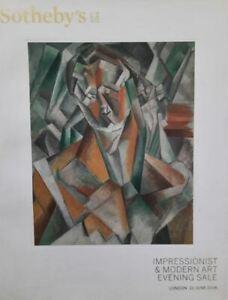Sotheby's London, Catalogue Impressionist & Modern Art Evening Sale 2016 HB