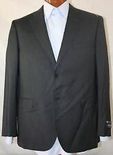 """New 212 Saks Fifth Avenue REDA Super 130'S Wool Charcoal Suit US 44S - W38"""""""