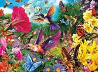 Buffalo Games 11708 Vivid Hummingbird Garden 1000 Piece Jigsaw Puzzle For Kids