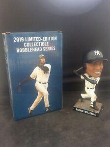 Boxed Bernie Williams New York Yankees World Baseball Series BobbleHead in Box