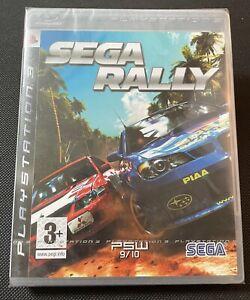 SEGA RALLY Ps3 Game new sealed U.K. Playstation 3