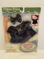 Briarberry Collection Briarberry Wear Dress Teddy Bear Fisher Price NoS 75020