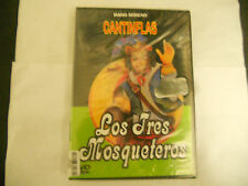 Los tres Mosqueteros -Mario Moreno Cantinflas DVD , En Español NEW