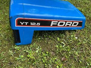 FORD YT-12.5 Garden Tractor ** HOOD ** Riding Lawn Mower Part Metal