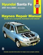 2001-2006 Haynes Hyundai Santa Fe Repair Manual