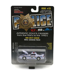 1996 Chevy Camaro Royal Canadian Police POLICE USA Diecast 1:59 Scale FREE SHIP