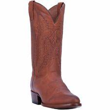 Dan Post 'Miller' R Toe Leather Boots, Cognac DP3363