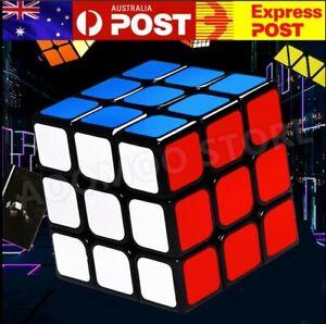 Magic Cube 3x3x3 Super Smooth Fast Speed Puzzle Rubix Rubik Toy Gift AU STOCK