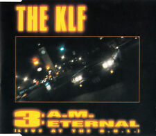 The KLF ‎Maxi CD 3 A.M. Eternal (Live At The S.S.L.) - France (EX/EX+)