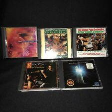 Christmas Music 5 CD Kenny G Barbra Indigo Guitar Holiday Streisand Boston Pops