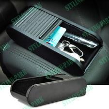Car Roll Plastic Pocket Sliding Dash Pen Coins Case Storage Box Holder Container