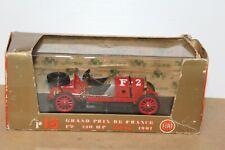 VERY NICE BRUMM R15 FIAT F2 GRAND PRIX de FRANCE RACE CAR 1907 1:43 scale in BOX