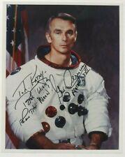 Apollo 17 Gene Cernan Commander Signed Photograph Last Moonwalker Authentic