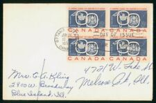 New listing Mayfairstamps Canada Fdc 1959 St Lawrence Seaway Block First Day Cover wwo_05287