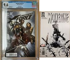 Uncanny X-Force #1 CGC 9.6 - Rick Remender Clayton Crain - Wolverine 32 Variant