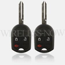 2 Car Key Fob Remote 3Btn For 2006 2007 2008 2009 2010 2011 2012 Ford Focus