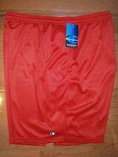 NWT Mens Champion Long Mesh Shorts XXL/2XL Red