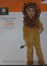 Halloween Infant Brown Lion Jumpsuit Costume Size 6-12 months NWT