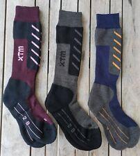 2 Pack XTM Half Pipe Mens SKi Snow Merino Socks size2-14 Combined Postage