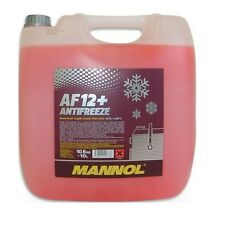 [1,99€/L] 10 LITER MANNOL AF12+G12+ ROSA/ROT bis -40°C KÜHLERFROSTSCHUTZ VW AUDI