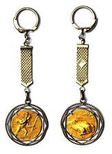 Schlüsselanhänger S. cristoforo Heilige Ausiliatore der Autofahrer Silber