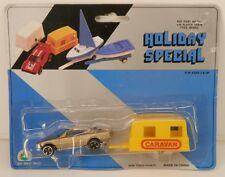 """Summer Toys Mercedes Benz 500 SEC & Caravan Camper Trailer """"Holiday Special"""" MOC"""