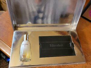 Fahrenheit 32 And Dior Luggage Tag Gift Set - RARE