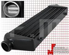 BLACK Aluminum Front Mount Intercooler 27''x7''x2.5'' RX7 RX8 MIATA MAZDASPEED 3