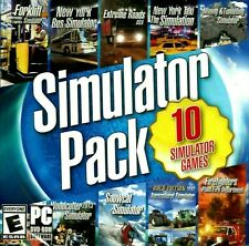 Simulator Pack PC Games Windows 10 8 7 simulation forklift bus firefighters taxi