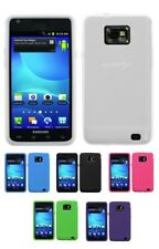 Solid Silicone Skin Cover Case for Samsung Galaxy S II i777 AT&T