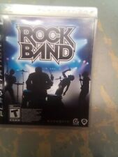 Rock Band PS3 Game Case And Manual