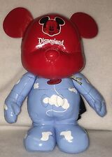 =Disney Vinylmation Plush Balloon Head Randy Noble Disneyland Mickey Mouse