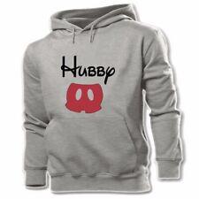 Cute wifey hubby Love Print Sweatshirt Couple Hoodies Graphic Hoody Hooded Tops