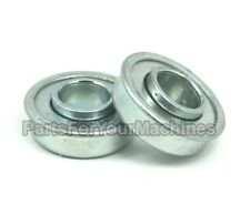 "SET OF 2 FLANGE BEARING 1-3/8"" OD,5/8"" ID,WHEEL BEARING, SOME GO KART, MINI BIKE"