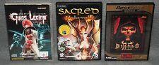 Chaos Legion International Sacred Underworld Diablo II PC Spiele Set Spiel