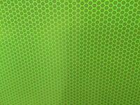Hi Viz Intensity Grade Lime Reflective A4 Sheet Self Adhesive