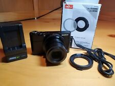 Sony Cyber-shot DSC-RX100 Mk I 20.2MP Camera, includes Sony 49mm filter adapter+