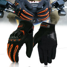 Motorcycle Driving Racing Protective Full Finger Gloves Touch Screen Shockproof