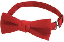 Red Bow Tie Host Hostess Server Catering Waitress Waiter Bow Tie Adjustable