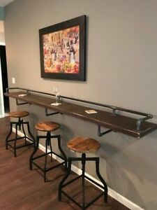 Drinks / Breakfast Bar | Industrial Pipe Style