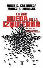 Lo que queda de la izquierda (Pensamiento  Taurus) (Spanish Edition)