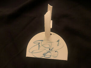 Emmitt Smith Autographed Golf-bag Tag From The Tailback TEE-IT-UP Golf Classic