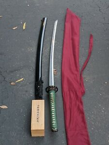 Snake Katana By Cas Hanwei Sh 8330     this masterly Forge samura sword features