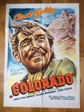 Colorado (Kinoplakat '51) - Clark Gable