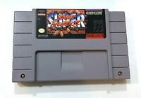 Street Fighter II 2 The New Challengers SUPER NINTENDO SNES Game - Tested!