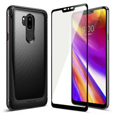 For LG G7 ThinQ Case Slim Fit TPU Cover+Screen Protector
