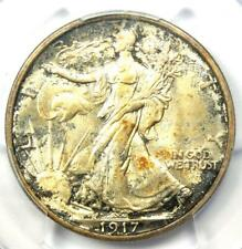 1917-S Walking Liberty Half Dollar 50C Coin (Reverse) - PCGS MS63 - $1,750 Value