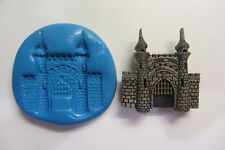 KING'S CASTLE Mould Chocolate Cupcakes Chocolate Sugarcraft Cake Topper  Fimo