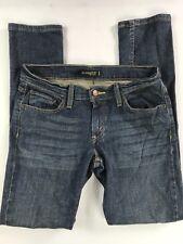 Levi's Women 524 Too Superlow Denim Blue Jean Size 9S Skinny Straight