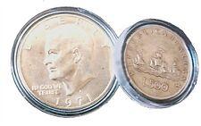 CAPSULE PROTEGGI MONETE PER 0,02 EURO CENT DIAMETRO 19 MM. CONFEZIONE 10 PEZZI